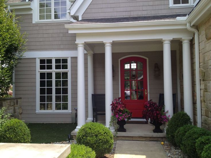 28 Best Images About Exteriors Front Doors Red On