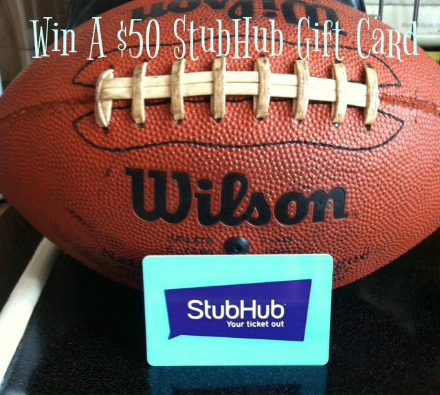 $50 StubHub Gift Card Giveaway-Sporting event tickets, concerts, and more.  http://www.freebiequeen13.net/50-stubhub-gift-card-giveaway.html