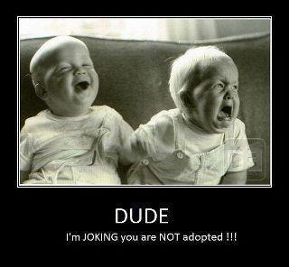 Tweeling humor!