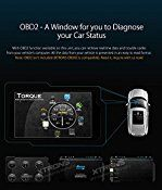 XTRONS® Android 5.1 Lollipop Quad Core 6.95″ Capacitive Touch Screen Car Stereo Radio 2 Din 1080P Video OBD2 Screen Mirroring Function for Toyota