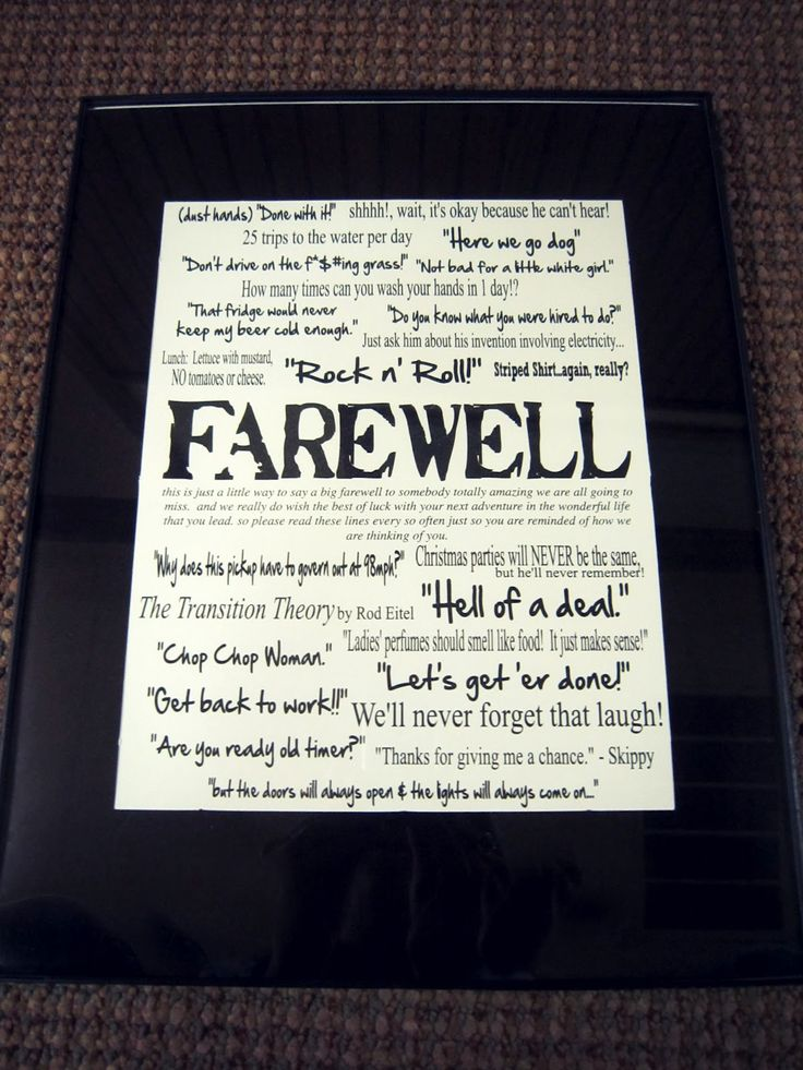 11 best goodbye letters images on pinterest