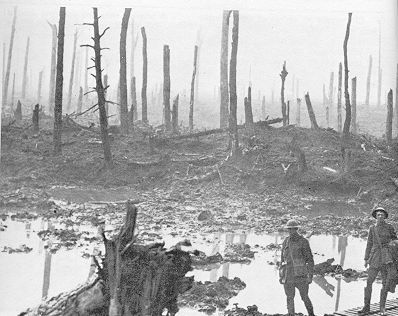 al termino de la guerra