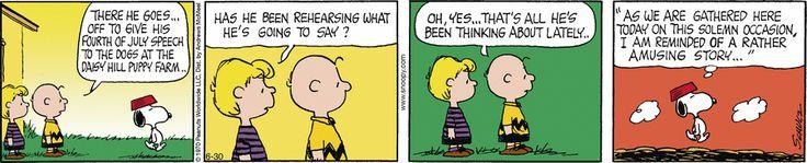 Peanuts by Charles Schulz for Jun 30, 2017 | Read Comic Strips at GoComics.com