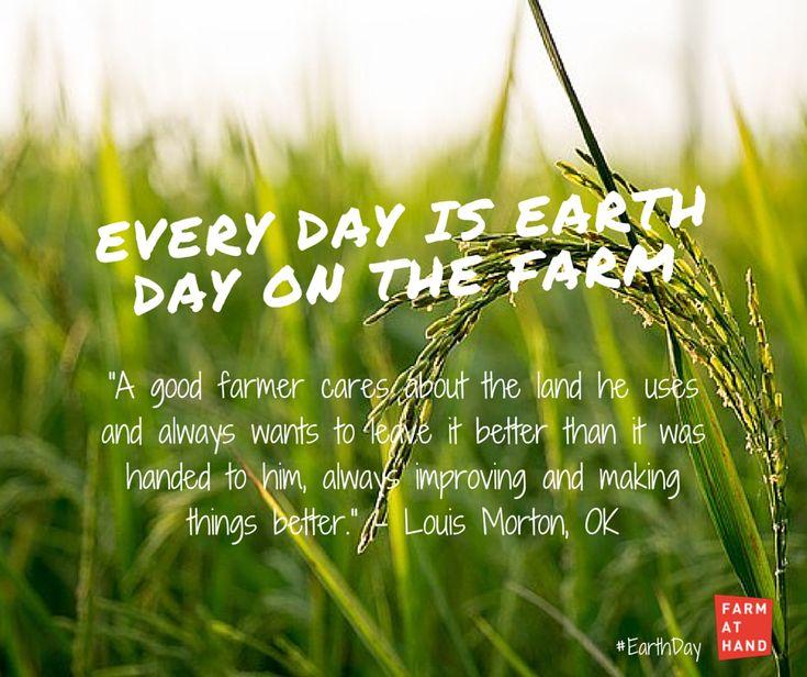 Louis Morton quote #EarthDay