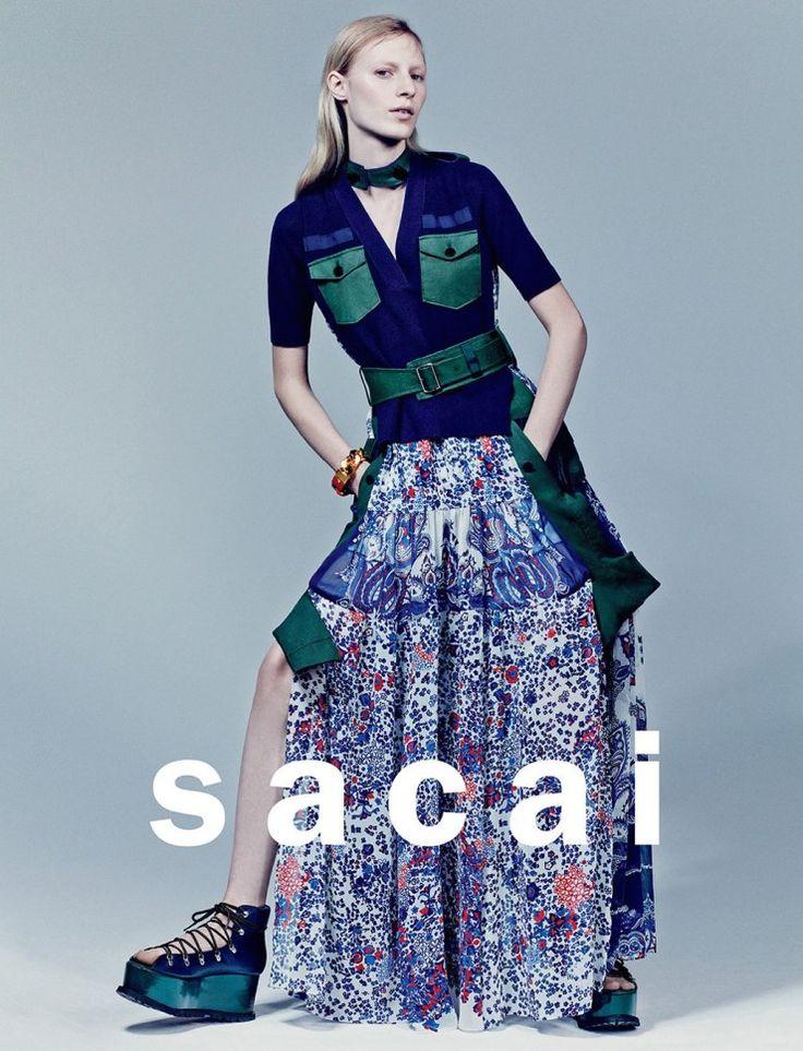 Julia Nobis by Craig McDean for Sacai Spring Summer 2015 2