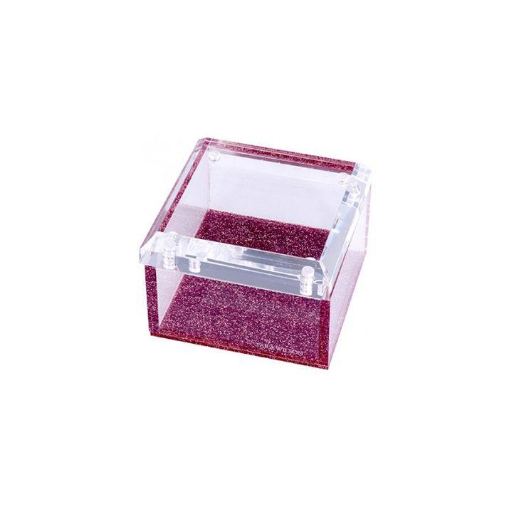 Pink Glitter Small Box
