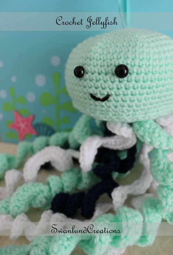 This fun Jellyfish is a great toy for decorating childrens rooms. Can be used as…