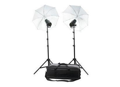 Profoto D1 Studio Kit 500 Air Kompl Stativer paraplyer bag, 2stk 500Ws