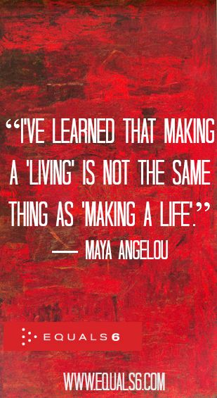 Maya Angelou Is Never Wrong   #quotes #success #career