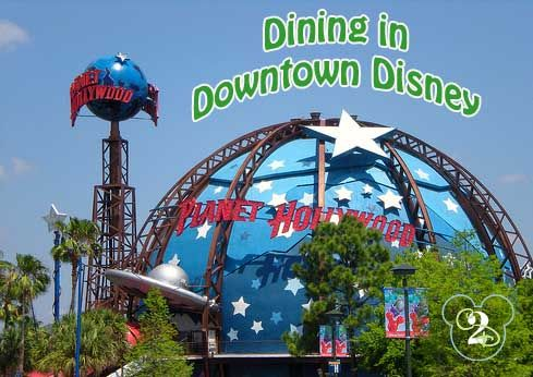 Downtown Disney's Planet Hollywood is an awesome restaurant. If you booked a Disney Resort package, be sure to check the coupon booklet you received in the mail for a Planet Hollywood coupon.