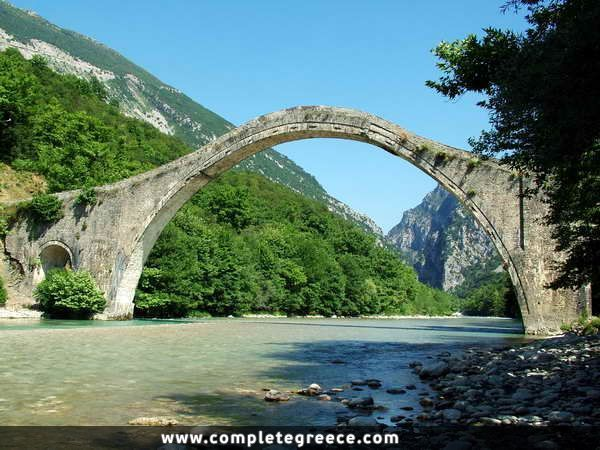 Plaka Bridge - Plaka - Ioannina - #Greece
