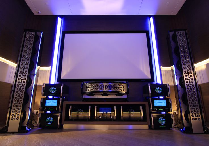 McIntosh Reference Home Theater System: Home Theater System with over 10,000 Watts of power and 7 Speakers