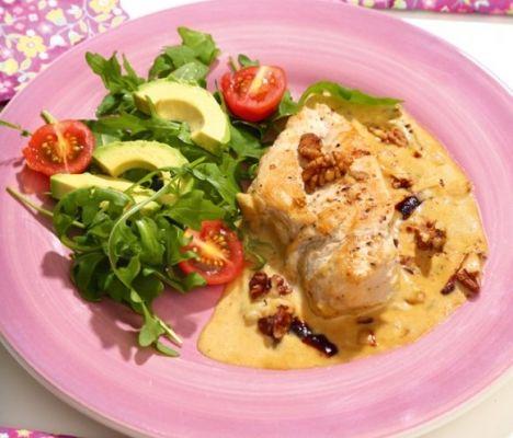 Kyckling med gorgonzola | Matkärlek