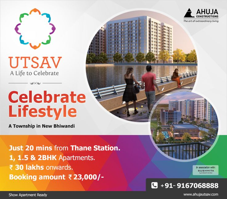Affordable 1, 1.5, 2 BHK apartments starting from Rs.30 lakhs onwards