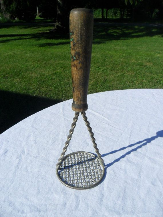 Vintage Potato Masher 1930s 1940s Twisted Wire by AmeliesFarmhouse, $8.00