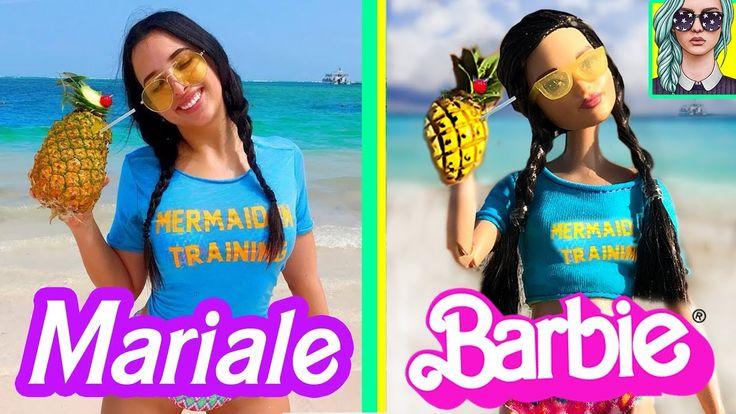 BARBIE imita el instagram de MARIALE - Lola Land 💜