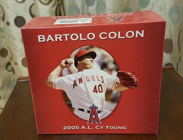2005 A.L. Cy Young BARTOLO COLON Anaheim Los Angeles ANGELS FIGURINE STATUE  #LosAngelesAngels #LosAngelesAngels