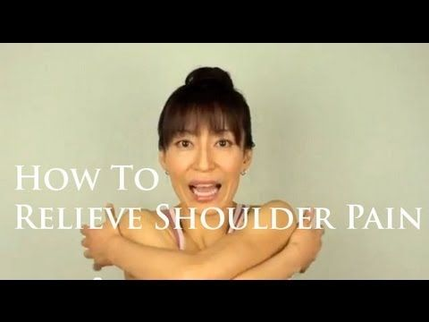 How To Relieve Shoulder Pain with The Face Yoga Method