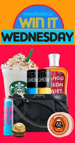 Win It Wednesday with WomenFreebies
