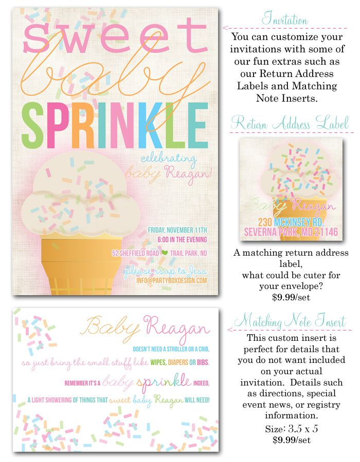 17 best ideas about baby girl sprinkle on pinterest | baby girl, Baby shower invitations