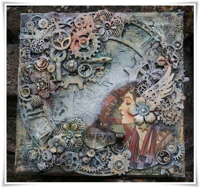 Steampunk Canvas | Art Anthology