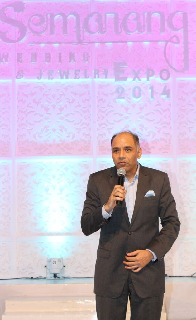 Our GM, Mr. Anil Pathak give opening speech to officiate the Wedding Expo 2014 #LifeAtIHG