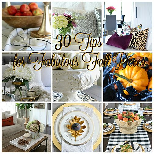 CITRINELIVING - 30 TIPS FOR FABULOUS FALL DECOR