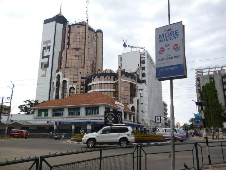 Moi Avenue, Nyerere Avenue & Digo Rd roundabout #kenya #mombasa