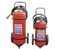 Trolley DCP Extinguishers