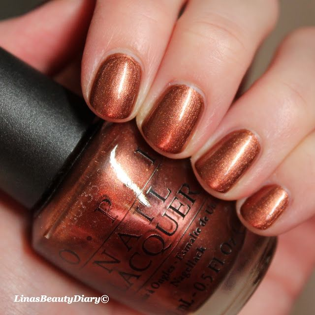 Opi brisbane bronze another perfect copper color for the fall opi brisbane bronze another perfect copper color for the fall feet my style pinterest copper color opi and autumn makeup prinsesfo Gallery