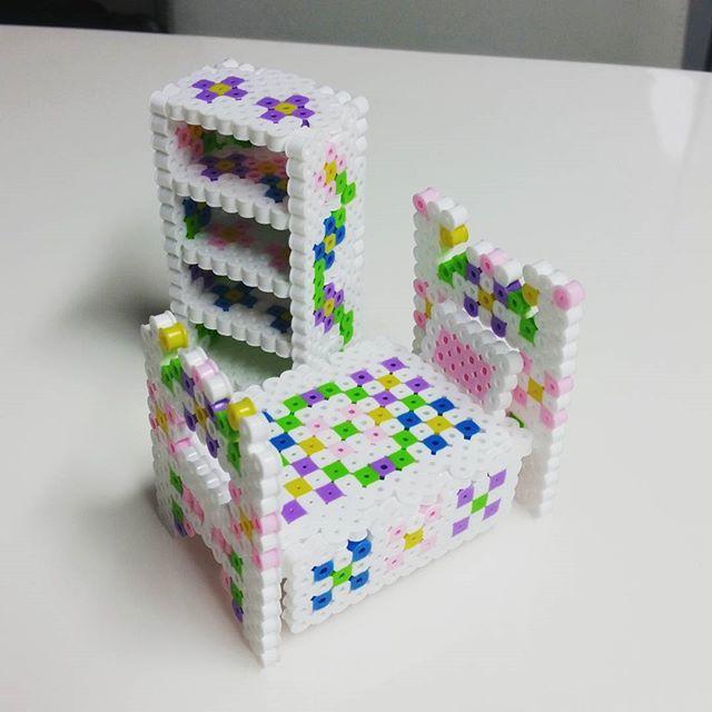 Furniture perler beads by stardooly
