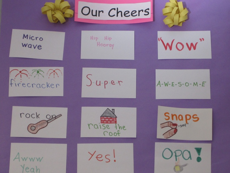 Cheers For Elementary Classrooms : Best callbacks and cheers images on pinterest