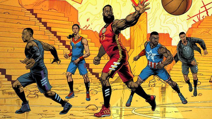 Adidas Basketball Celebrates 'Avengers Endgame' With