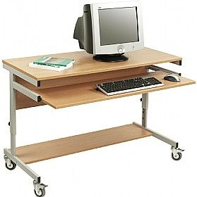 Height Adjustable Computer Desks  www.officefurnitureonline.co.uk