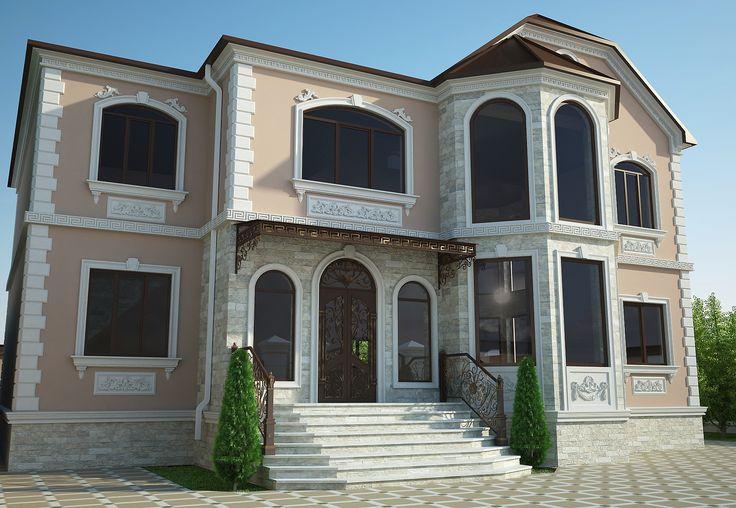 Частный жилой дом г. Гудермес
