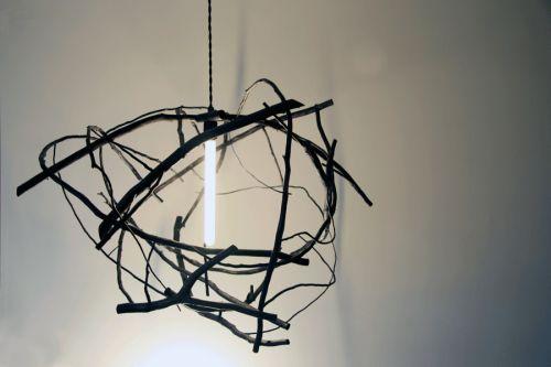 Scatter/Gather pendant light