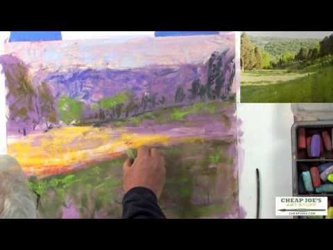 Pastel Techniques with Paul deMarrais - A Color Value Composition (Part 2) - YouTube