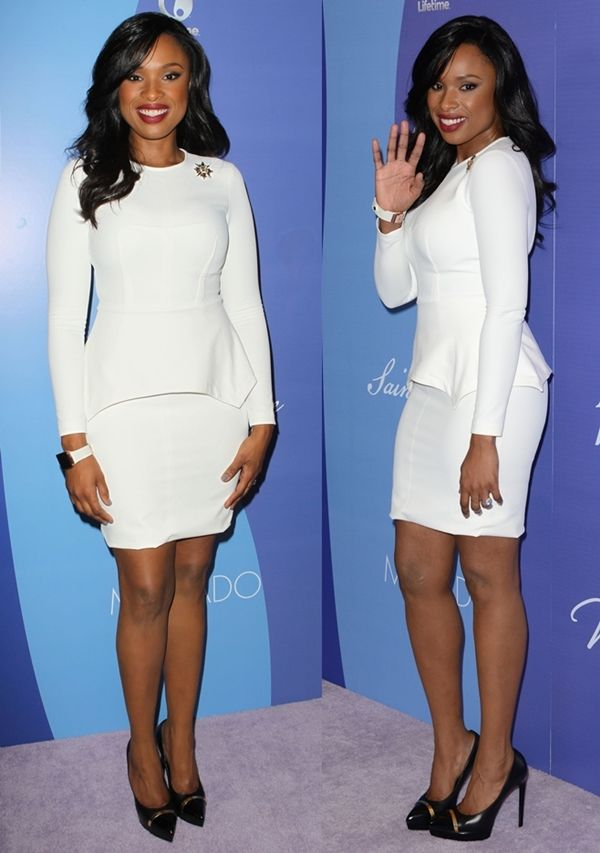 Jennifer Hudson at Variety's Fifth Annual Power of Women event held at Beverly Wilshire Four Seasons Hotel in Beverly Hills, California, on October 4, 2013