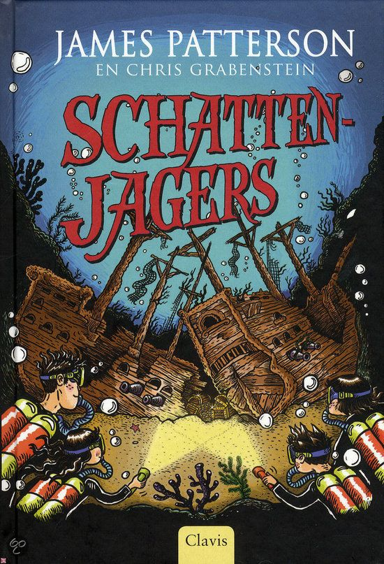 Schattenjagers - James Patterson - Tip van de #Kinderjury 2015