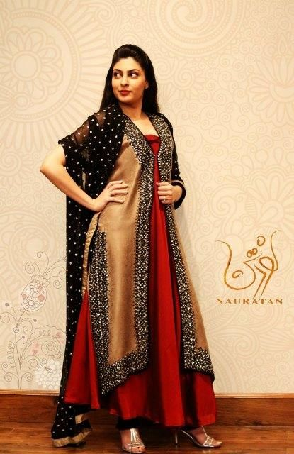 Nauratan Latest Semi Formal Outfits 2013 For Women