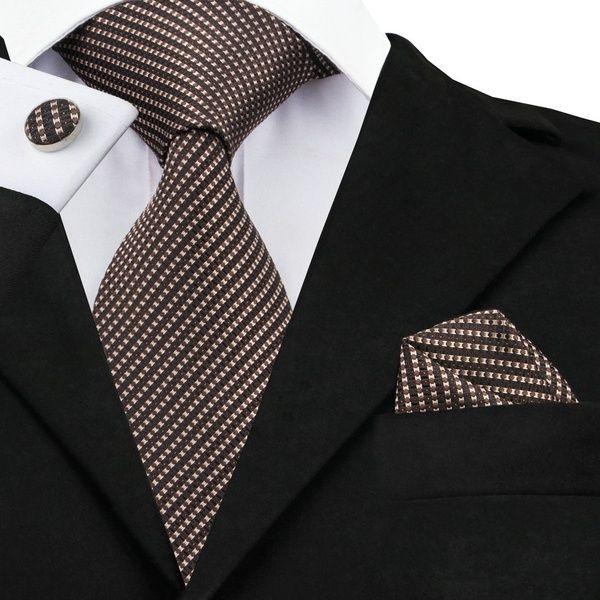 Brown Pocket Square Hankie Handkerchief Wedding Formal Suit Blazer Jacket UK
