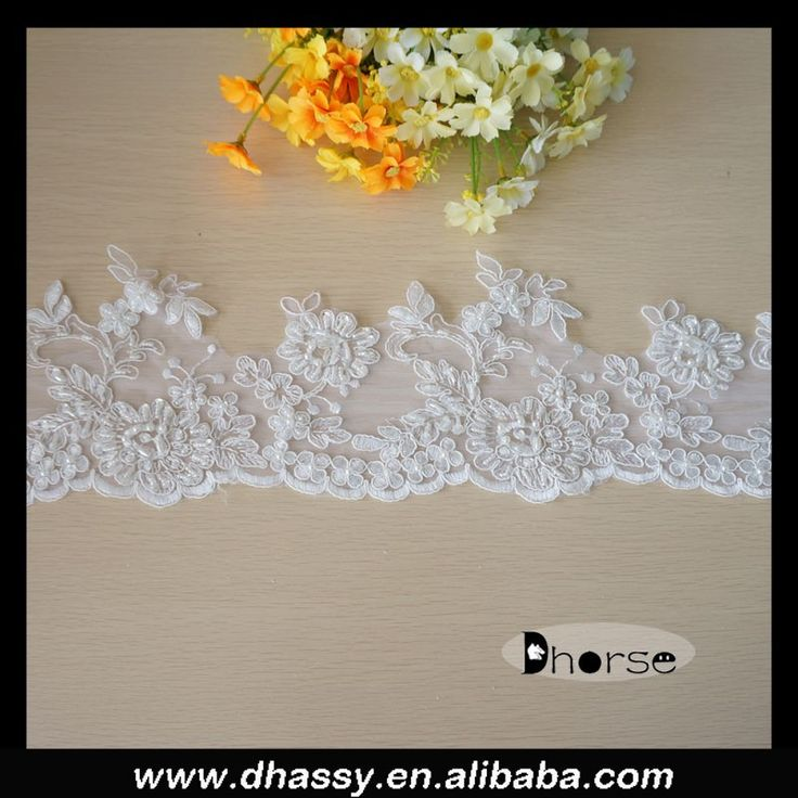 684 best lace etc images on pinterest guangzhou acrylic nail new product fancy pearl beaded bridal veil trim view bridal veil trim dhorse product junglespirit Images