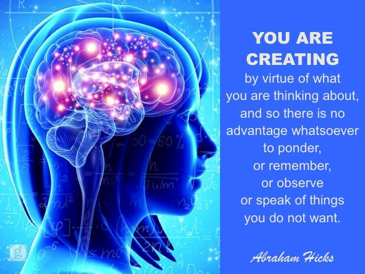 Image result for thoughts create life abraham hicks gif