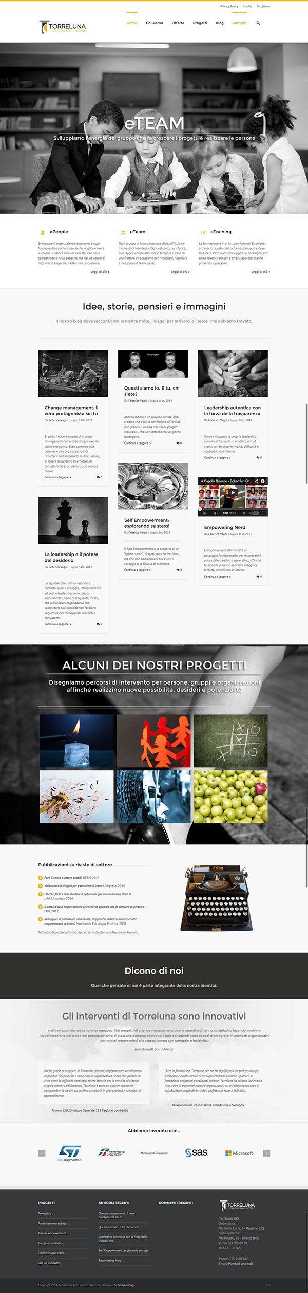 New website Torreluna.com on Behance  #webdesign #webdevelopment #website torreluna.com
