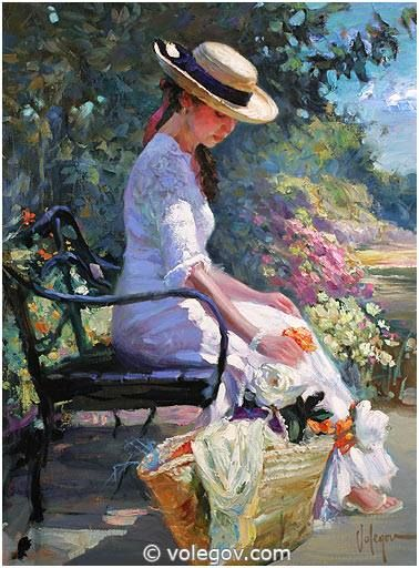 Vladimir Volegov - At Road to Monet garden