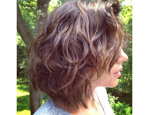 Qvc Host Sandra Bennett S Beachy Wave Hair Style Hair