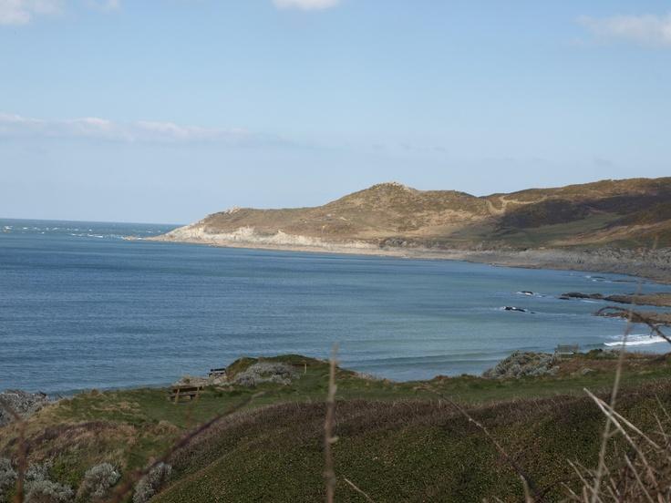 Coastal Paths from Woolacombe Beach
