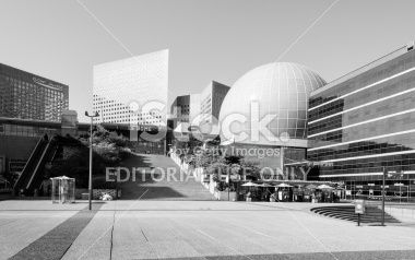 La Défense, Paris Royalty Free Stock Photo