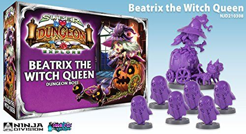 Super Dungeon Explore Beatrix the Witch Queen Board Game >>> Learn more by visiting the image link.Note:It is affiliate link to Amazon. #smile