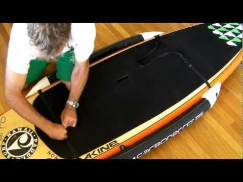 Carbonerro - Paddle Board Training/Fishing Rails